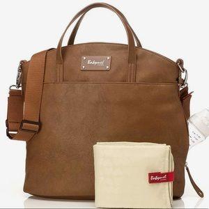 Babymel Grace Vegan Leather Diaper Bag Purse